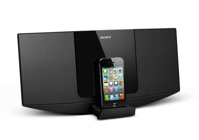 chaine hifi iphone ipod chaines avec dock iphone ipod. Black Bedroom Furniture Sets. Home Design Ideas