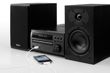 Denon D-M39 version black