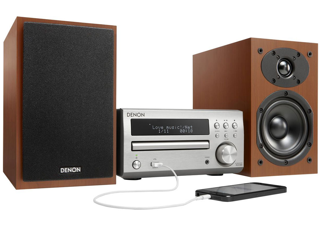 denon d m40 test avis chaine hifi. Black Bedroom Furniture Sets. Home Design Ideas