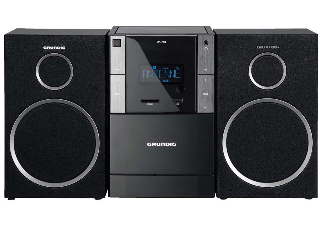 grundig ms240 test avis chaine hifi. Black Bedroom Furniture Sets. Home Design Ideas