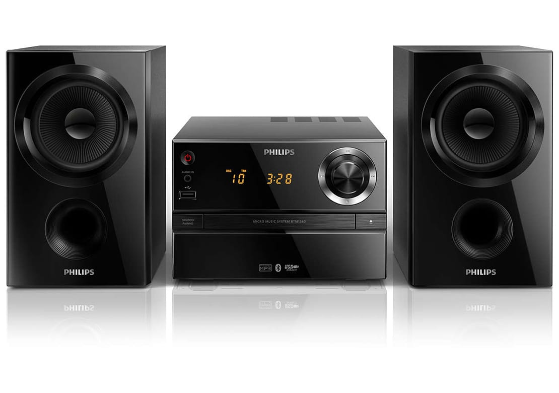 philips btm1360 test avis chaine hifi. Black Bedroom Furniture Sets. Home Design Ideas