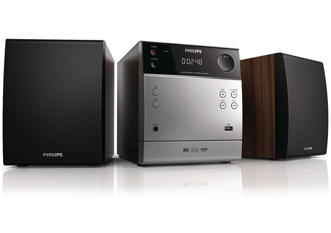 philips mcm129 test avis chaine hifi. Black Bedroom Furniture Sets. Home Design Ideas